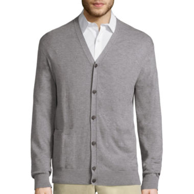 jcpenney.com | Claiborne Long Sleeve Cardigan