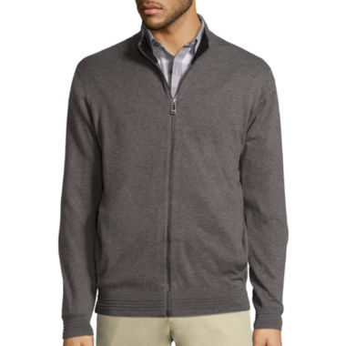 jcpenney.com | Claiborne Full Zip Sweater