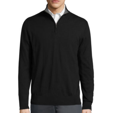 jcpenney.com | Claiborne® Long-Sleeve Thermolite Pullover Sweater