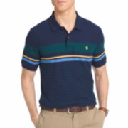 Izod Solid Cotton Polo Shirt