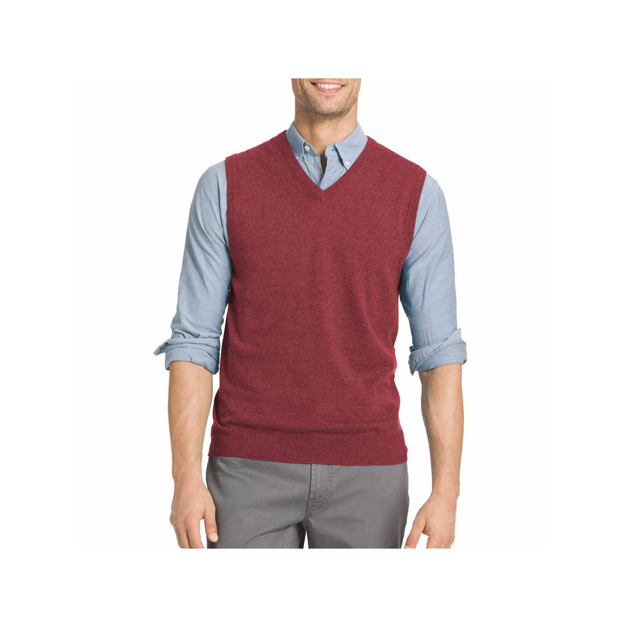 UPC 015844819503 - Izod V Neck Cotton Sweater Vest | upcitemdb.com