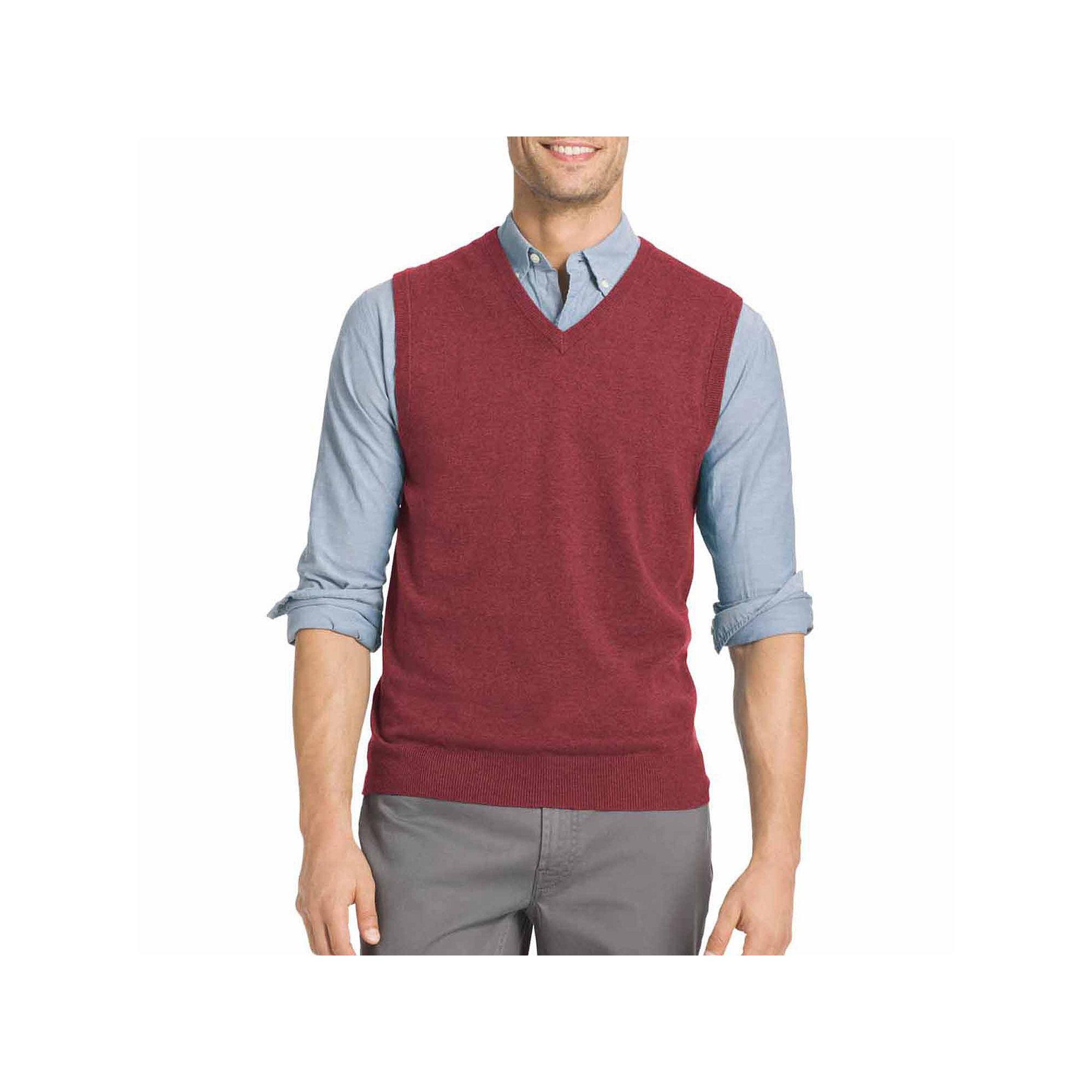 UPC 015844819503 - Izod V Neck Cotton Sweater Vest | upcitemdb.com