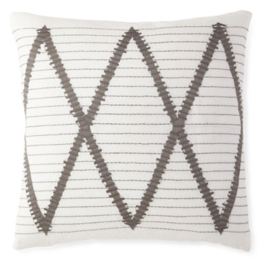jcpenney.com | Bellina White Square Decorative Pillow