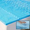Arctic Sleep™ by Pure Rest™ 5 Zone Marbleized Gel Memory Foam Topper