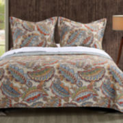 Greenland Home Fashions Falling Leaves Quilt Set