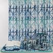 Shibori Shower Curtain