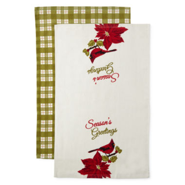 jcpenney.com | North Pole Trading Co 2-pc. Kitchen Towel