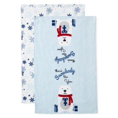 jcpenney.com | North Pole Trading Co There'S Snowbody Like You 2-pc. Kitchen Towel