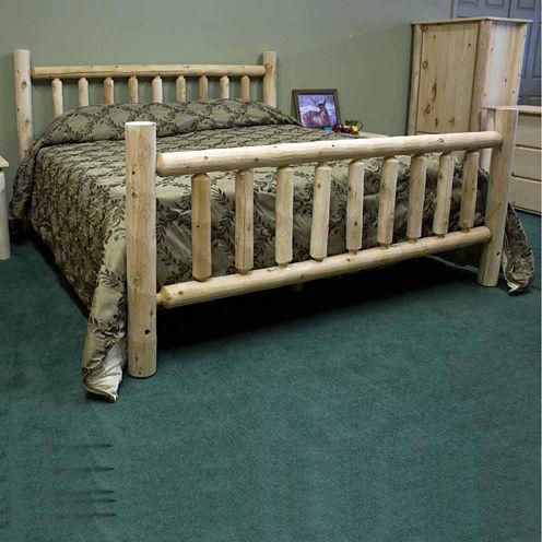 Cedar Log 3-pc. Bedroom Set