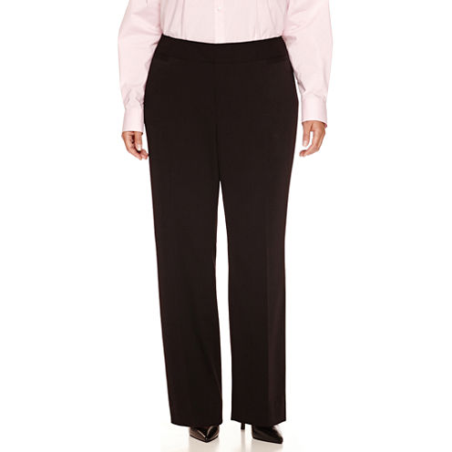 "Liz Claiborne Audra Suiting Pant-Plus (32""/30"" Short)"