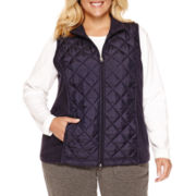 Made For Life Quilted Vest - Plus