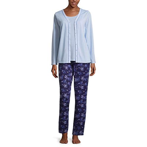 Adonna 3-pc. Floral Pant Pajama Set