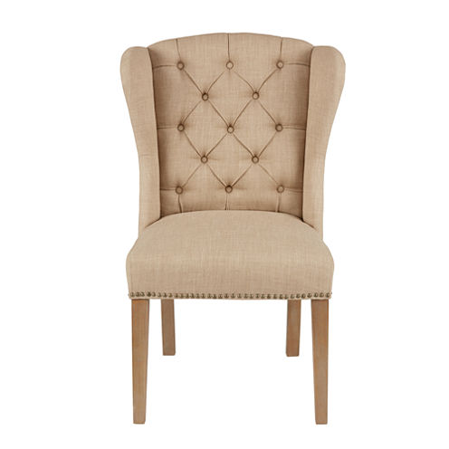 Madison Park Lydia Tufted Wing Dining Chair