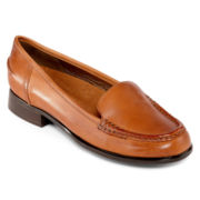 Hush Puppies® Blondelle Leather Loafers