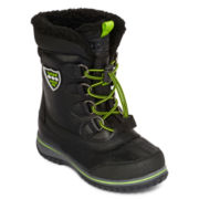 Totes® Justin Boys Cold Weather Boots - Little Kids/Big Kids