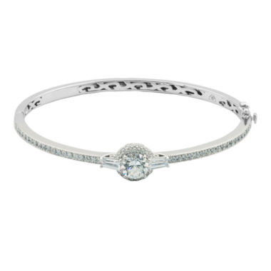 jcpenney.com | 100 Facets by DiamonArt® Cubic Zirconia & Diamond-Accent Bangle