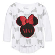 Minnie Mouse Bow Top - Girls 6-16