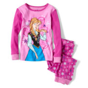 Disney Frozen Anna 2-pc. Pajamas - Girls 2-10