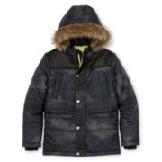 Arizona Camo Snorkel Jacket - Boys 6-18