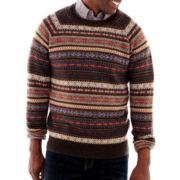 Haggar® Fair Isle Sweater