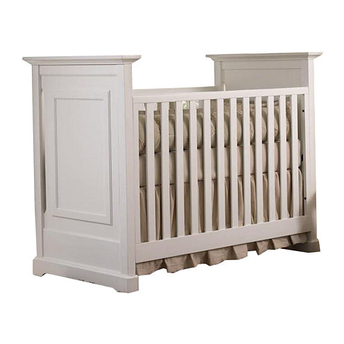 Muniré Furniture Chesapeake Classic Crib - White
