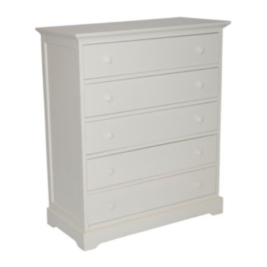 jcpenney.com | Muniré Furniture Chesapeake 5-Drawer Chest - White