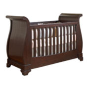 Muniré Furniture Chesapeake Sleigh Crib - Merlot