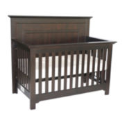Muniré Furniture Chesapeake Full Panel Crib - Merlot