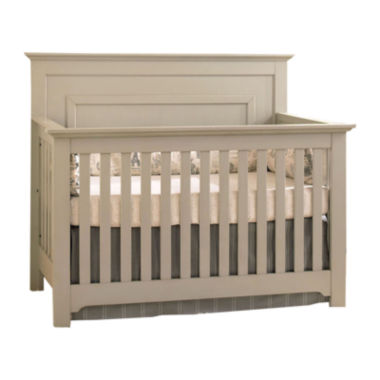jcpenney.com | Muniré Furniture Chesapeake Full Panel Crib - Light Gray