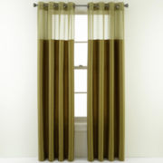 Studio™ Grasses Two-Tone Skylight Grommet-Top Curtain Panel