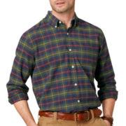 G.H. Bass® Long-Sleeve Plaid Oxford Shirt
