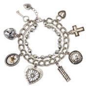 Messages from the Heart® by Sandra Magsamen® Wings Charm Bracelet