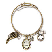 Messages from the Heart® by Sandra Magsamen® Wings Charm Bangle