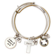 Messages from the Heart® by Sandra Magsamen® Dream Charm Bangle