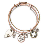 Messages from the Heart® by Sandra Magsamen® Heart Charm Bangle