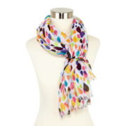 Bright Drips Scarf