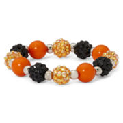 Carole Halloween Fireball Stretch Bracelet