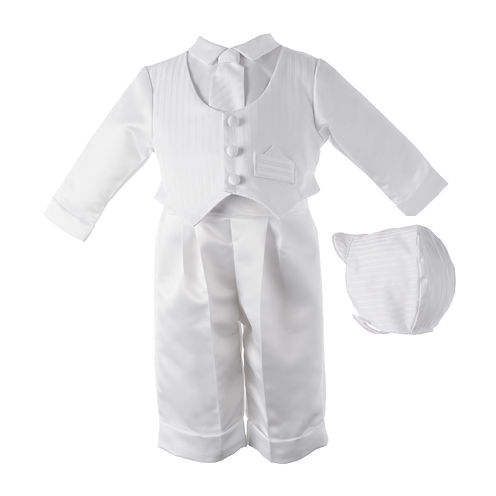 Keepsake® Satin Christening Pants Set - Boys newborn-24m