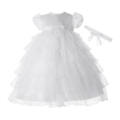 Keepsake® Christening or Baptism Dress - Girls newborn-12m