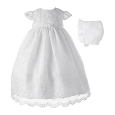 jcpenney.com | Keepsake® Christening Dress and Hat - Girls newborn-12m
