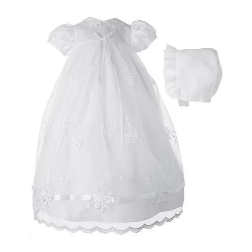 Keepsake® Christening Dress - Girls newborn-12m