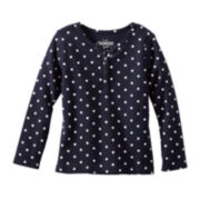 OshKosh B'gosh® Long-Sleeve Knit Top - Girls 2t-4t