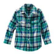 OshKosh B'gosh® Long-Sleeve Woven Plaid Shirt - Boys 2t-4t