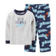 Carter's® 2-pc. Microfleece Pajama Set - Boys 12m-24m
