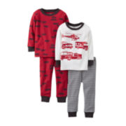 Carter's® 4-pc. Mix and Match Pajama Set – Boys 6m-24m