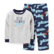 Carter's® 2-pc. Microfleece Pajama Set – Boys 2t-5t