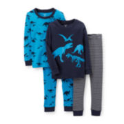 Carter's® 4-pc. Mix and Match Pajama Set – Boys 2t-5t