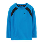 Carter's® Long-Sleeve Knit Athletic Tee – Boys 2t-4t