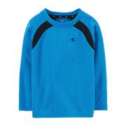 Carter's® Long-Sleeve Knit Athletic Tee – Boys 2t-4t