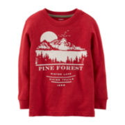 Carter's® Long-Sleeve Graphic Tee – Boys 5-7